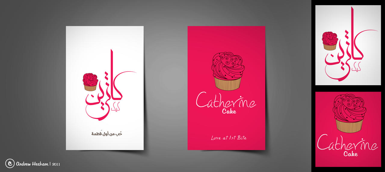 Catherine cake business card by andrewhesham on deviantart catherine cake business card by andrewhesham reheart Images