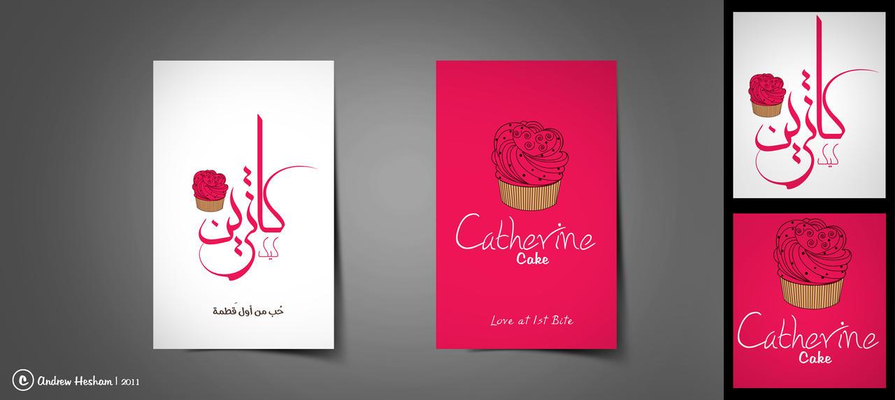 Catherine cake business card by AndrewHeSham on DeviantArt