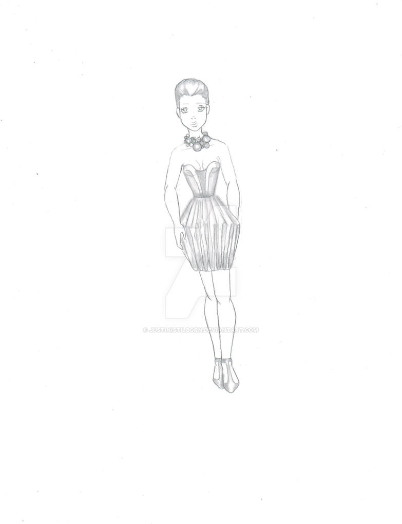05 2012 Tini Pencil Fashion Design By Justinistilborn