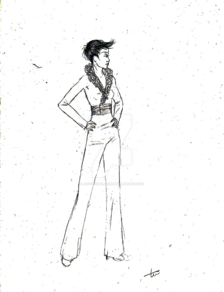 11 2009 Tini Pencil Fashion Design By Justinistilborn