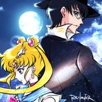 Sailor Moon in Saint Seiya Omega style by RPGHunter