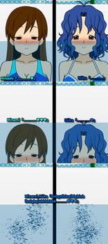 Minami's underwater apnea lesson 9