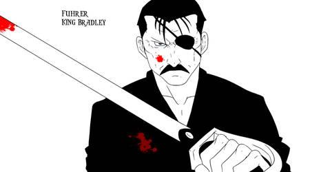 Fuhrer King Bradley by xFurasshu