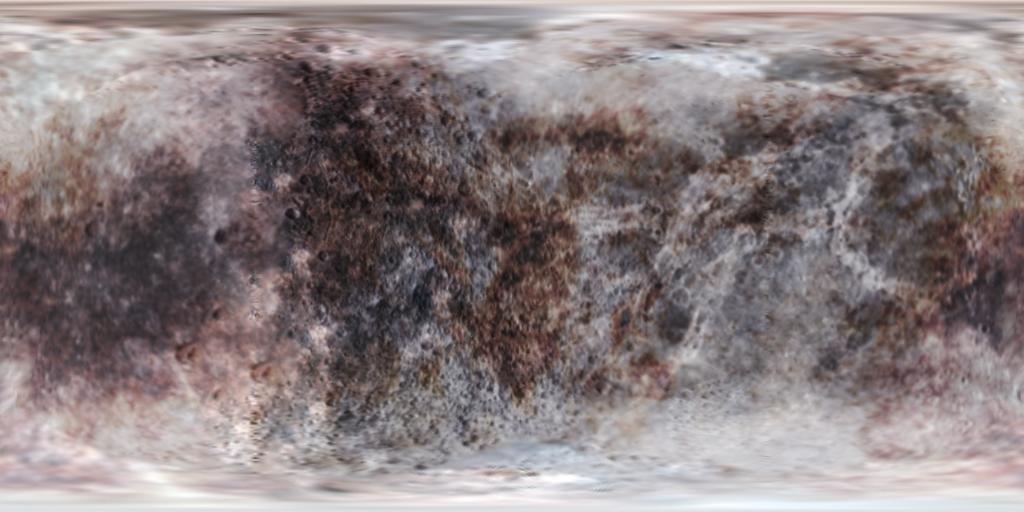 Fictional Pluto Texture Map by MagentaMeteorite on DeviantArt