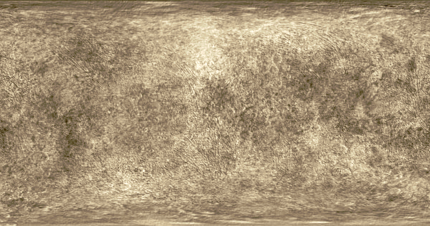 Haumea Texture Map - Artist's Impression by MagentaMeteorite