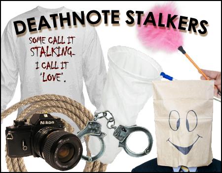 DEATHNOTE STALKERS CORNER by deathNote-club