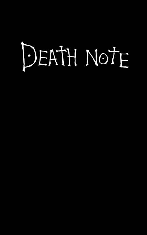 deathnote cover for download by deathnote club