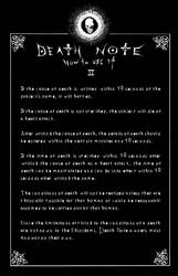 Deathnote Rules - page 2