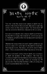 Deathnote Rules - page 3