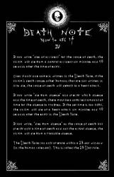 Deathnote Rules - page 4
