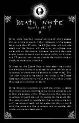 Deathnote Rules - page 5
