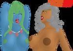 Ahegao Moms by ChrisFClarke