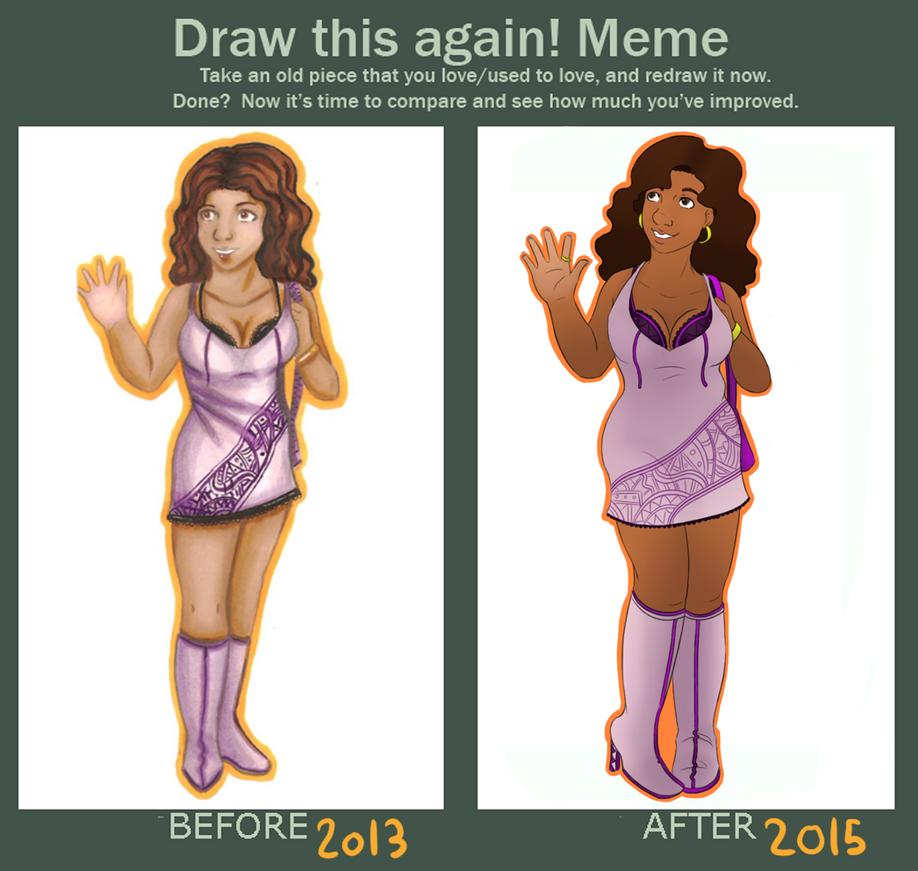 Draw This Again - Sharlene by Bluejotain