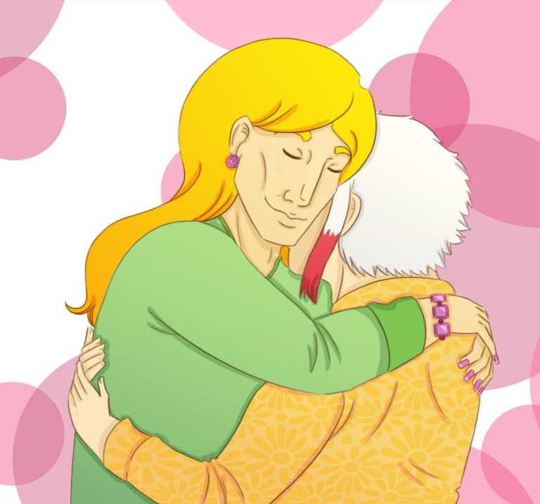 Mils Hug by Bluejotain