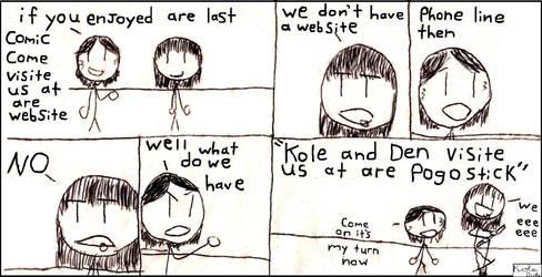 kole and den by yapusandboxhead