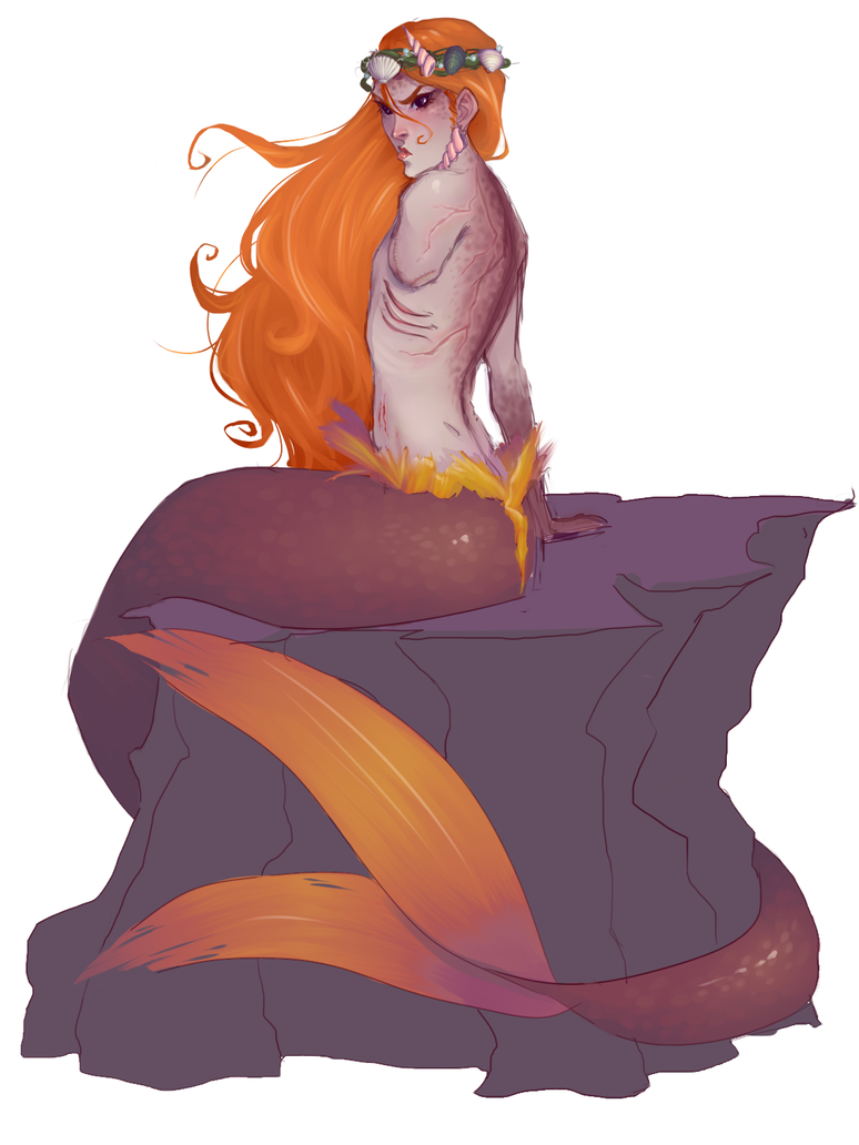 Merman by Kurospoons