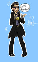 Gary King by HystericalDoodle