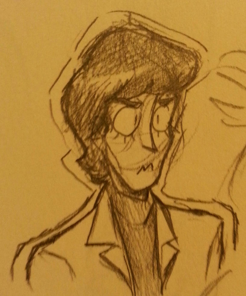 Another Beatle sketch by HystericalDoodle