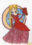 Sailor Moon: Red dress