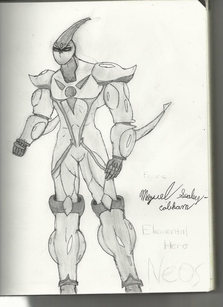 E-HERO Neos by Dj-ArMaGeDdOn-145McG