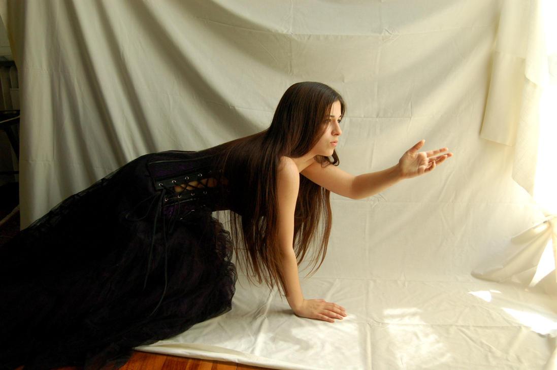 Purple Dress 1 by InTenebris-Stock