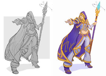 Week 4: Jaina Proudmoore 1/4 by IlyaBond