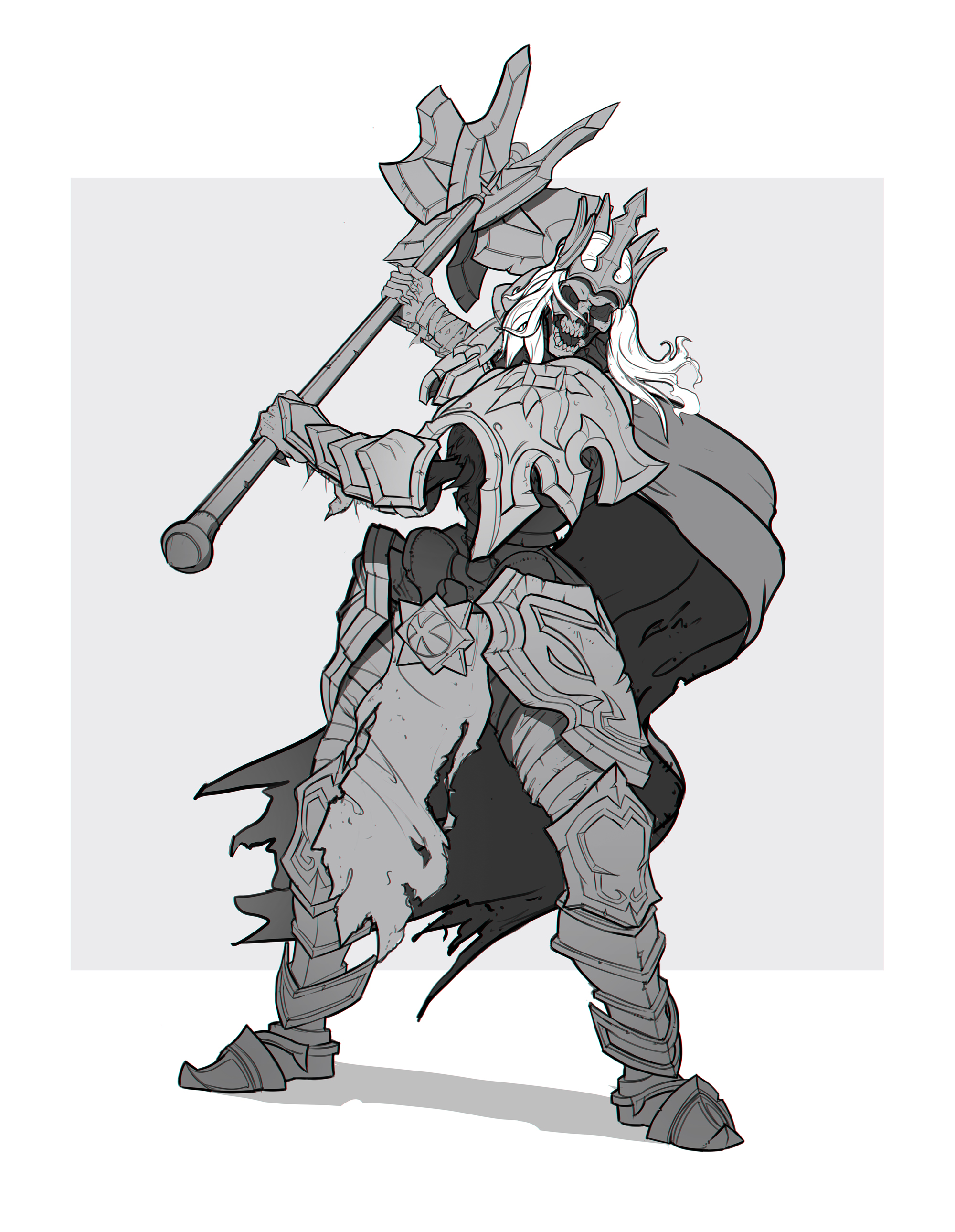 Week 6 king leoric 4 4 by ilyabond on deviantart - Heroes of the storm space lord leoric ...