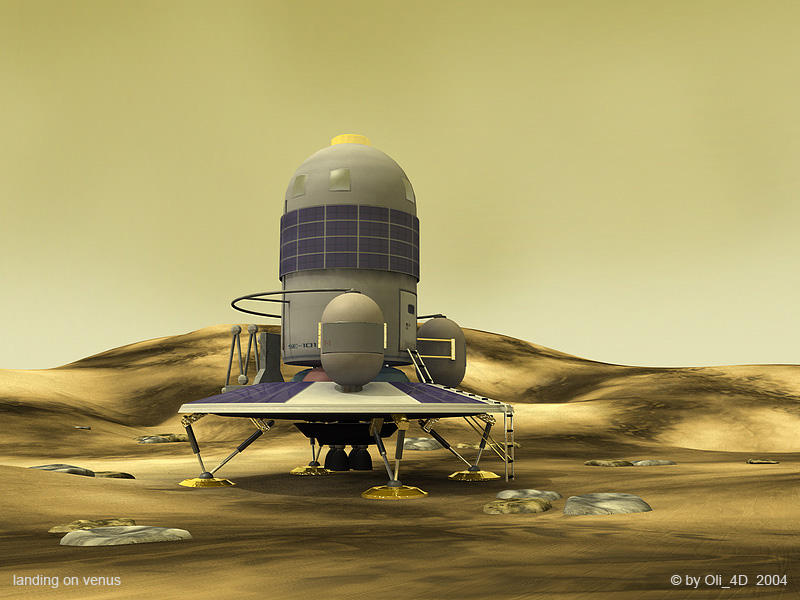 landing on venus by Oli4D