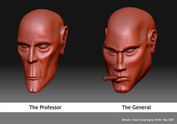 The Professor and the General by Oli4D