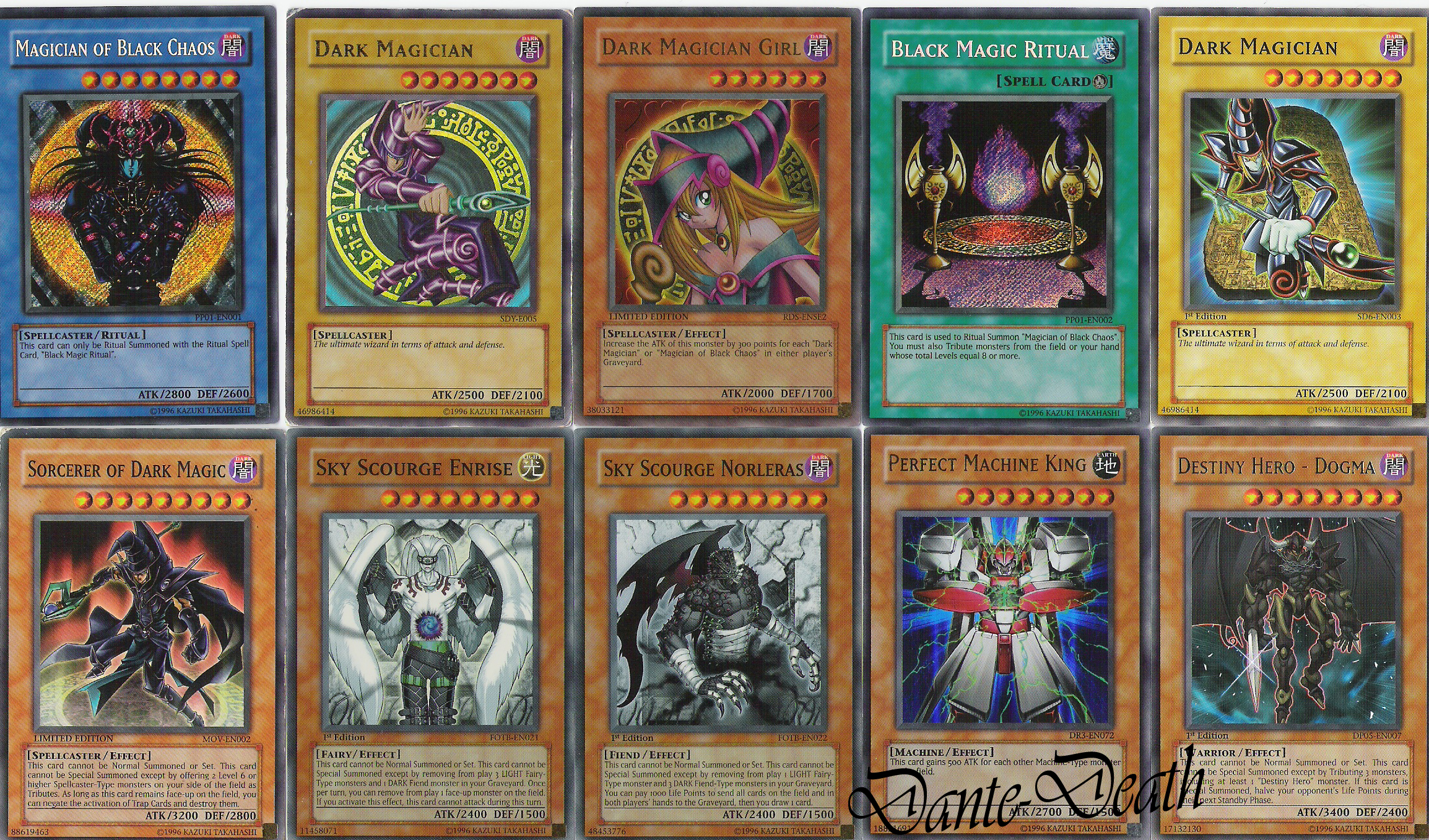 Rare yu gi oh trading cards by dantedeath on deviantart