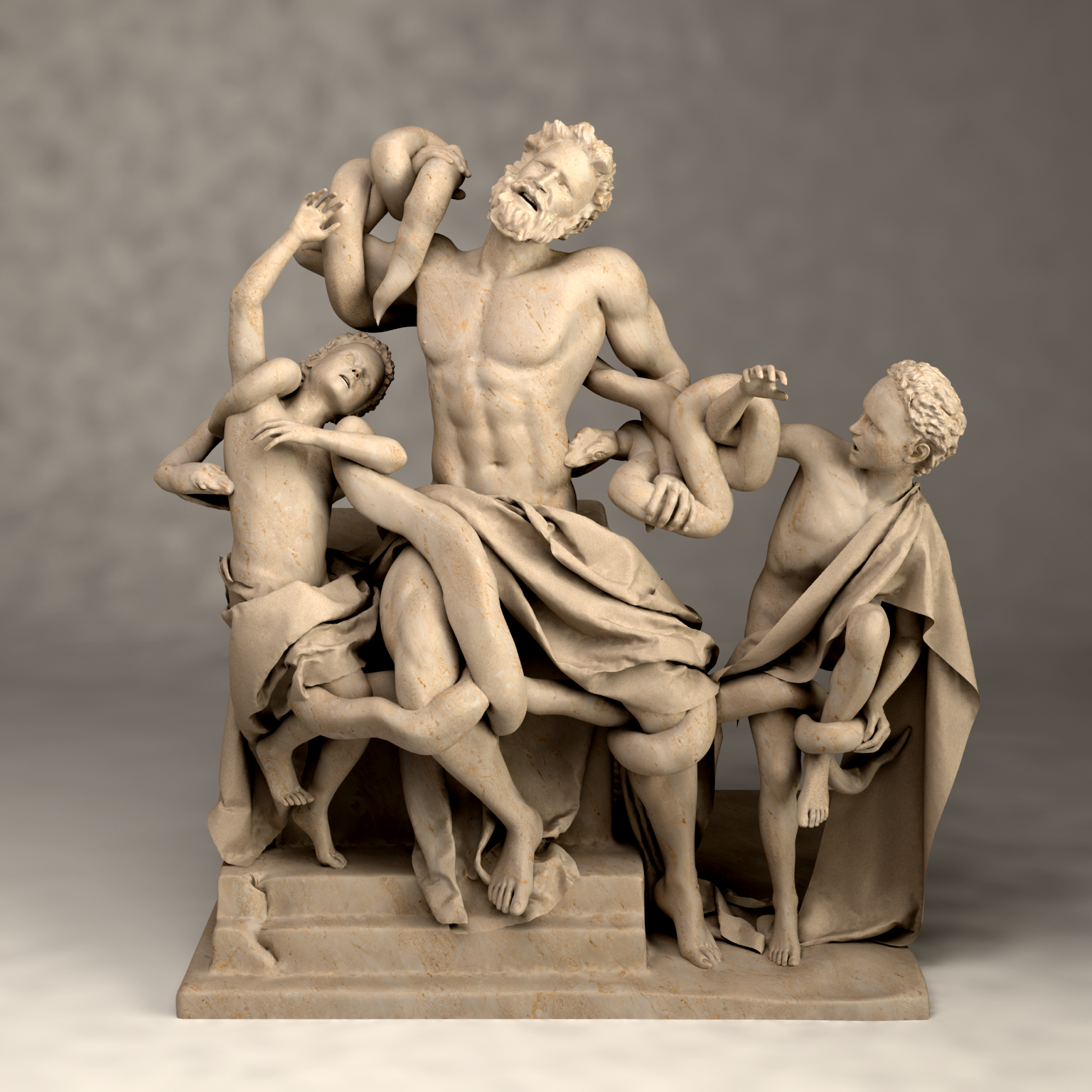 The statue of Laocoon and His Sons by vikastri on DeviantArt