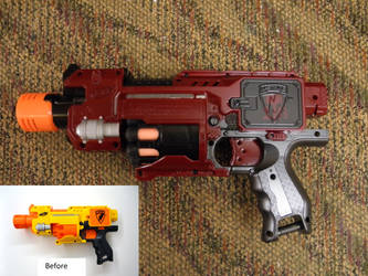 Painted Nerf Barricade