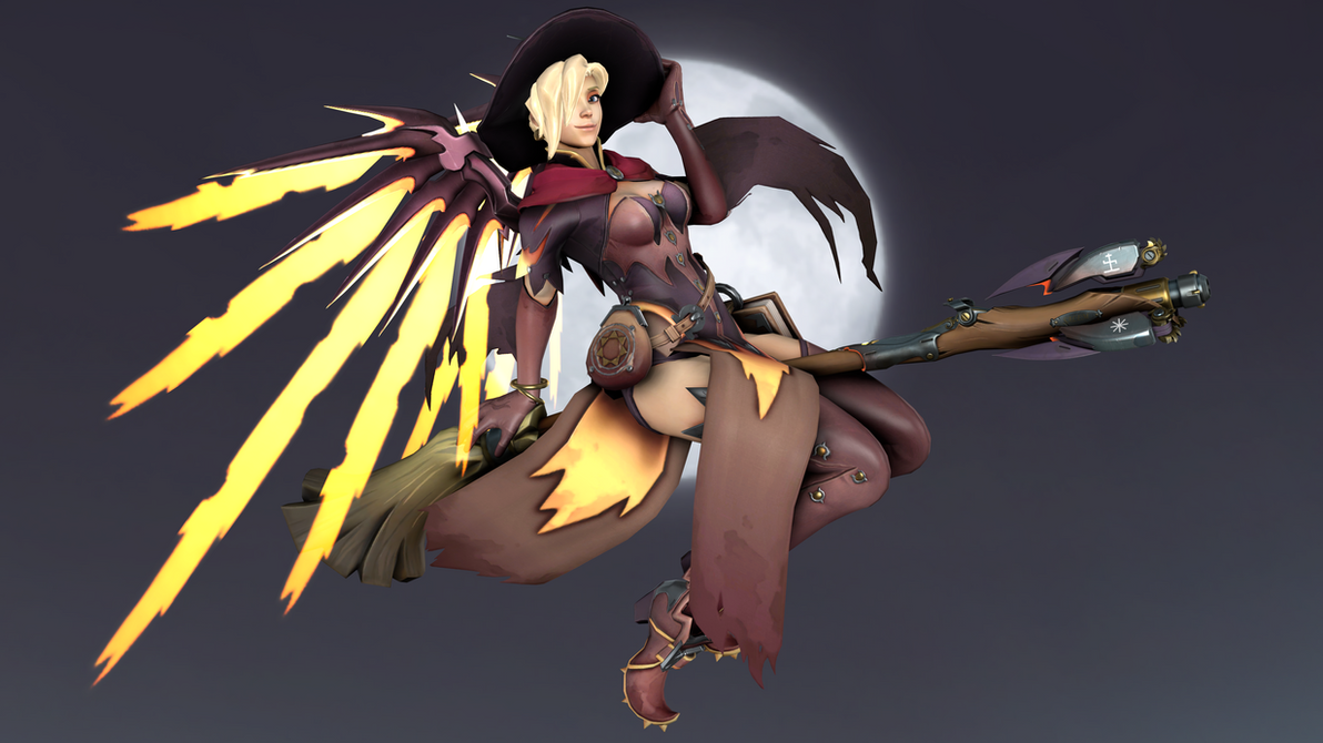 Witch Mercy (4K) by CJWong34