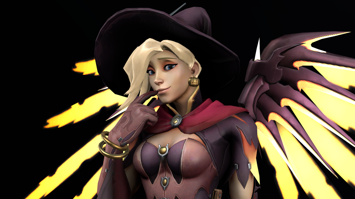 Witch Mercy 2 (4K) by CJWong34
