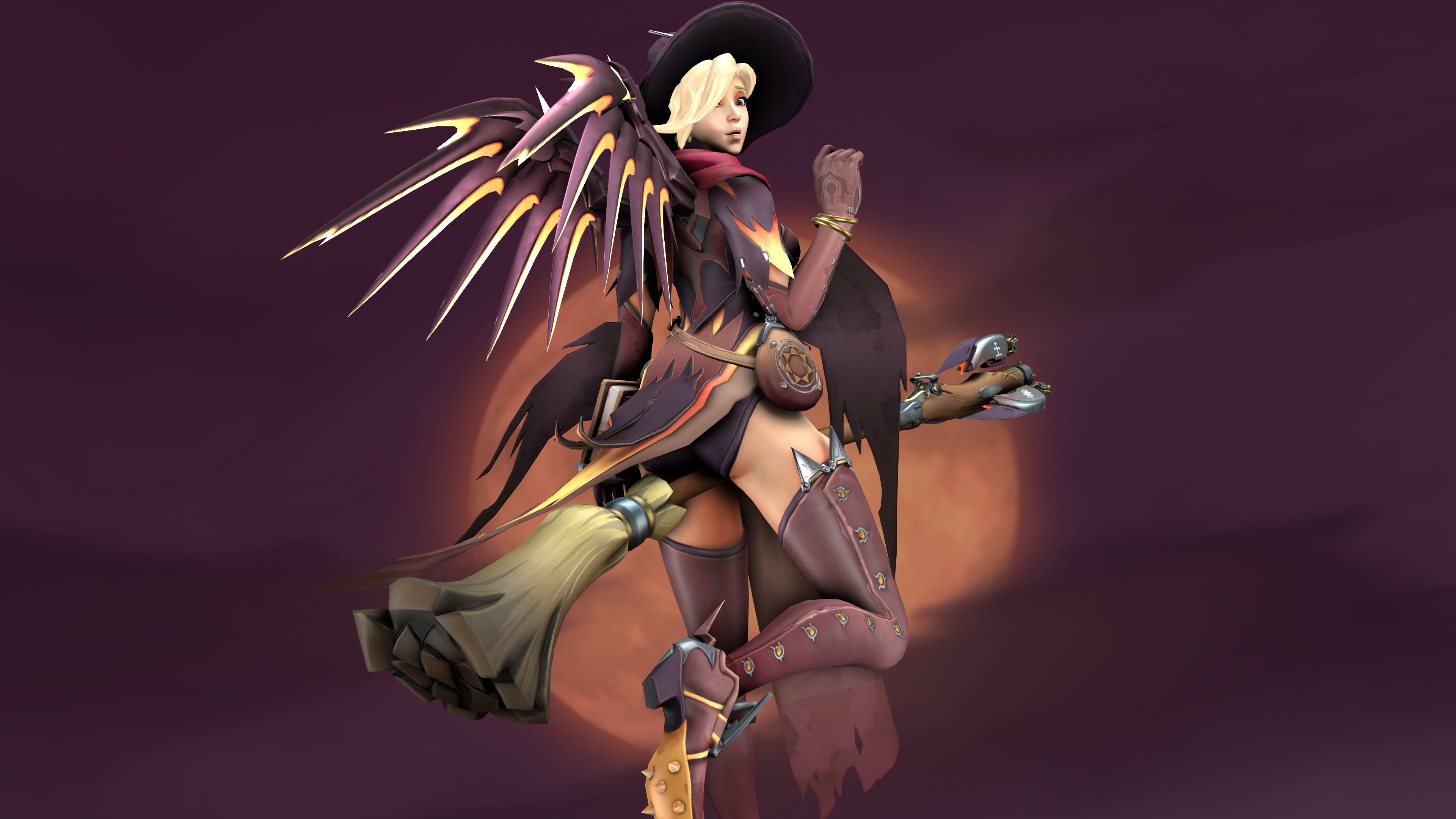 Witch Mercy 4 (4K) by CJWong34 on DeviantArt