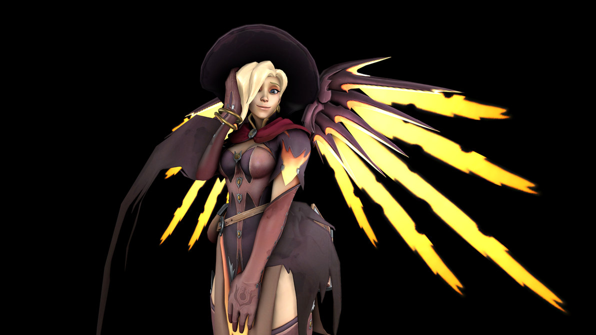 Witch Mercy 5 (4K) by CJWong34
