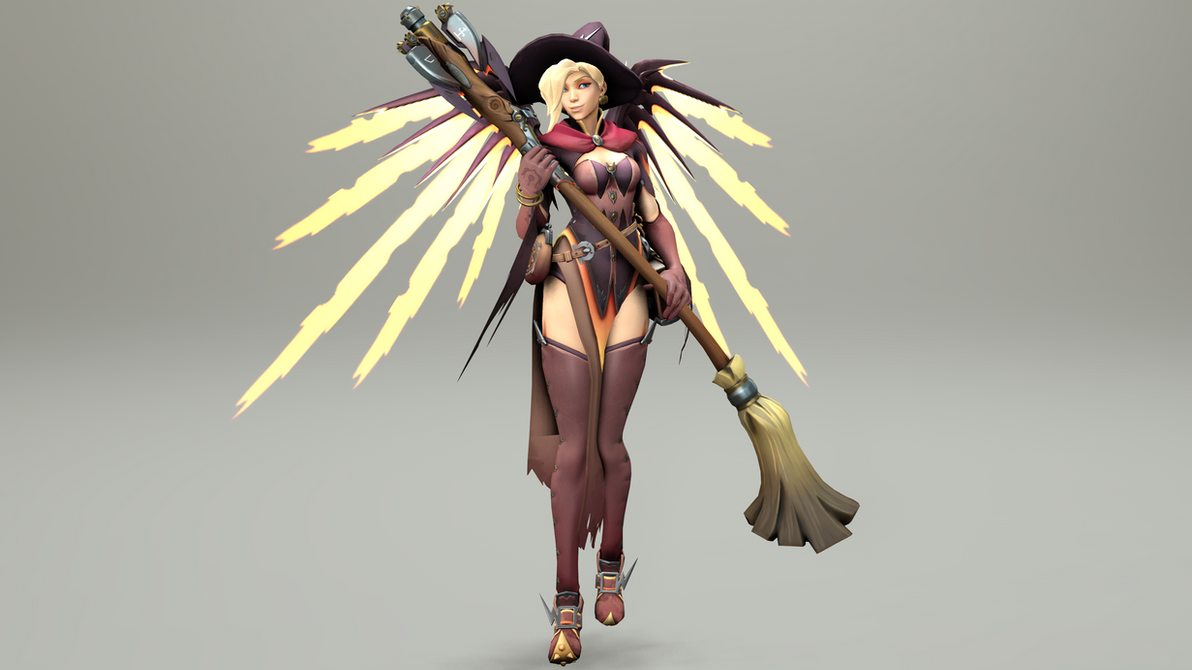 Witch Mercy 6 (4K) by CJWong34