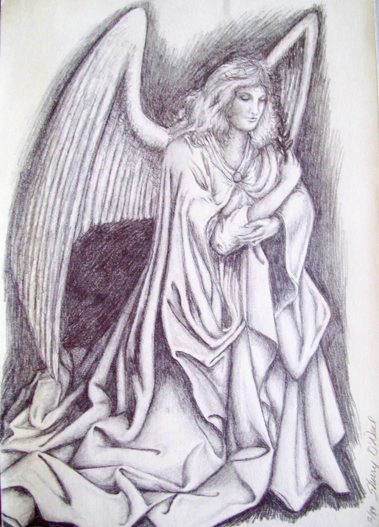 Angel Drawing Pinterest Angel Drawing on Pinterest