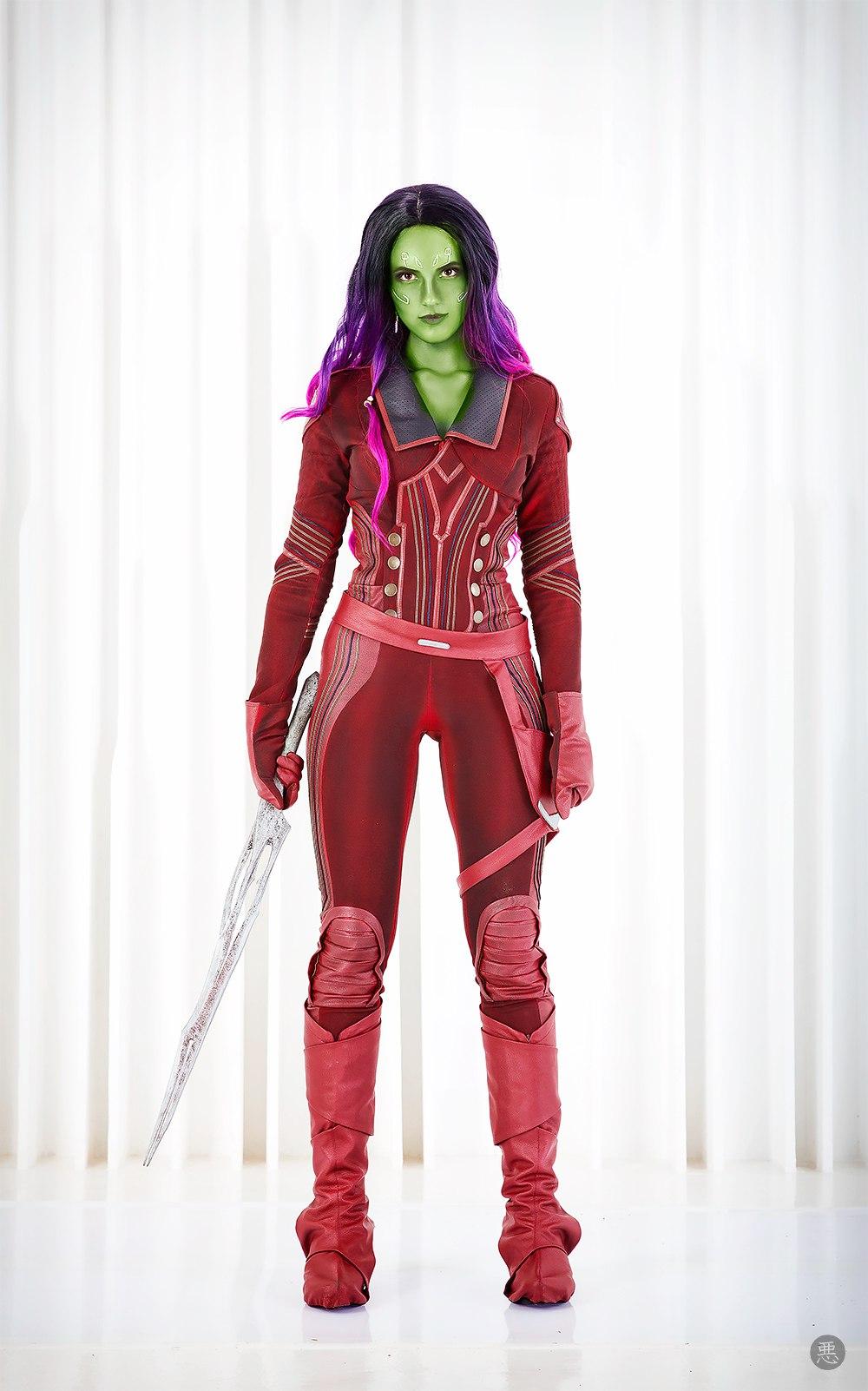 Gamora by niamash