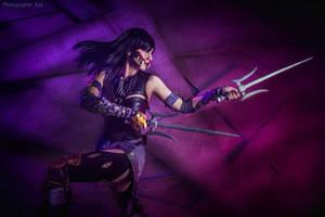 Mileena Mortal Kombat X by niamash
