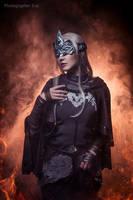 Fire keeper (Dark souls 3) by niamash