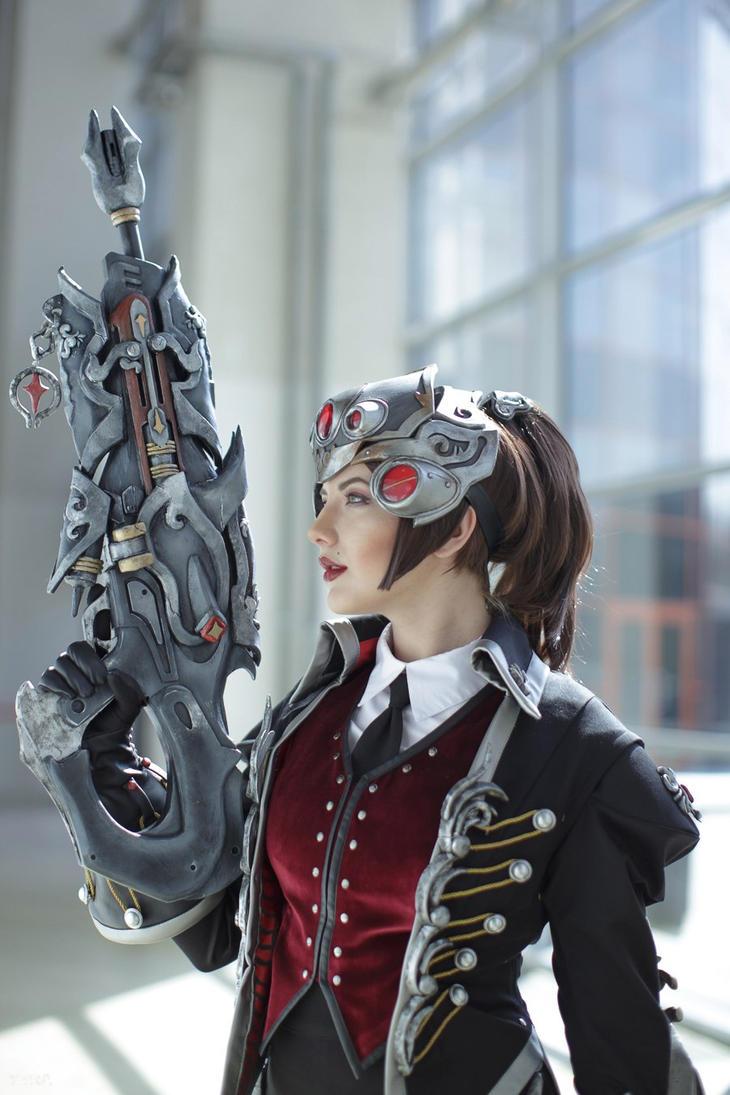 Widowmaker (Huntress skin) - Overwatch by niamash