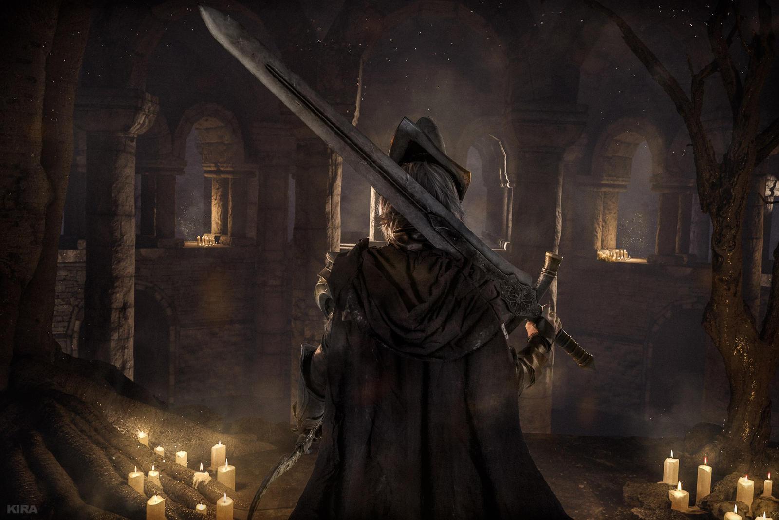 Dark Souls 3 Fire Keeper Cosplay: Dark Souls 3 Cosplay (Photo Story: Image 1) By Niamash On