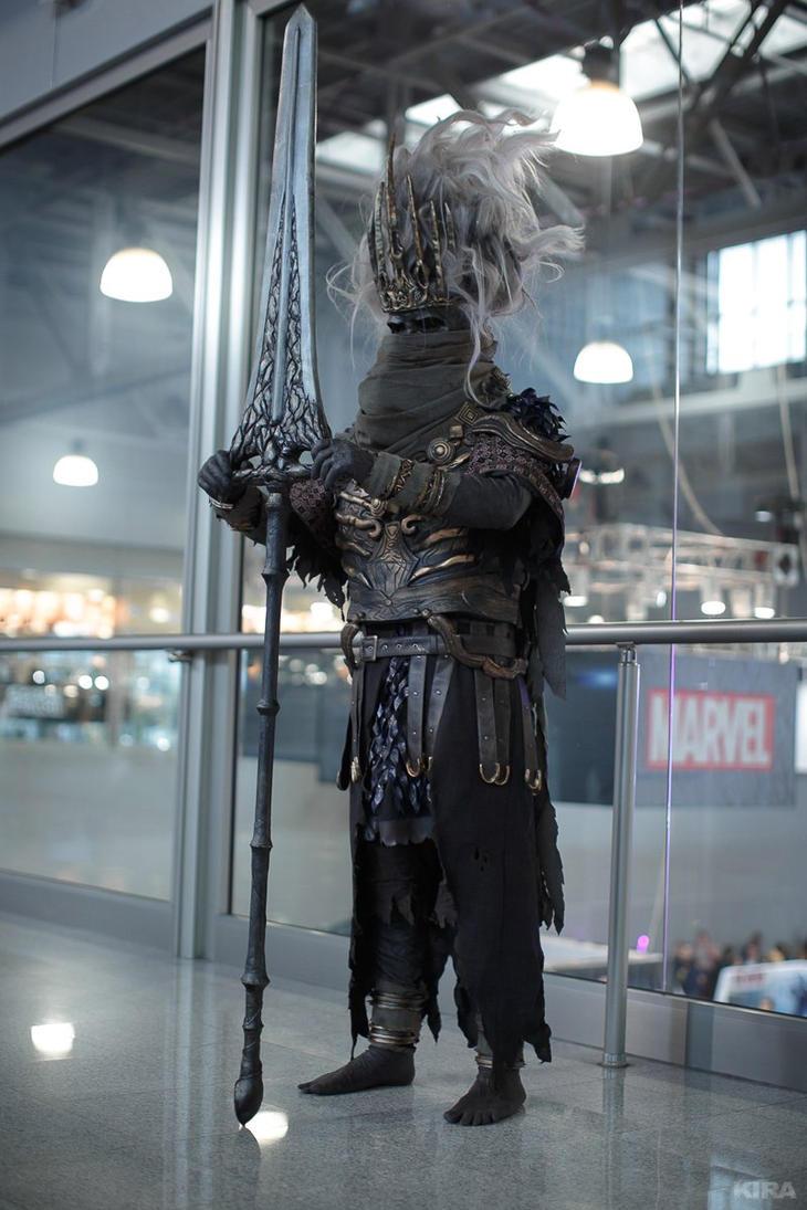 dark souls 3 nameless king cosplay by niamash on deviantart
