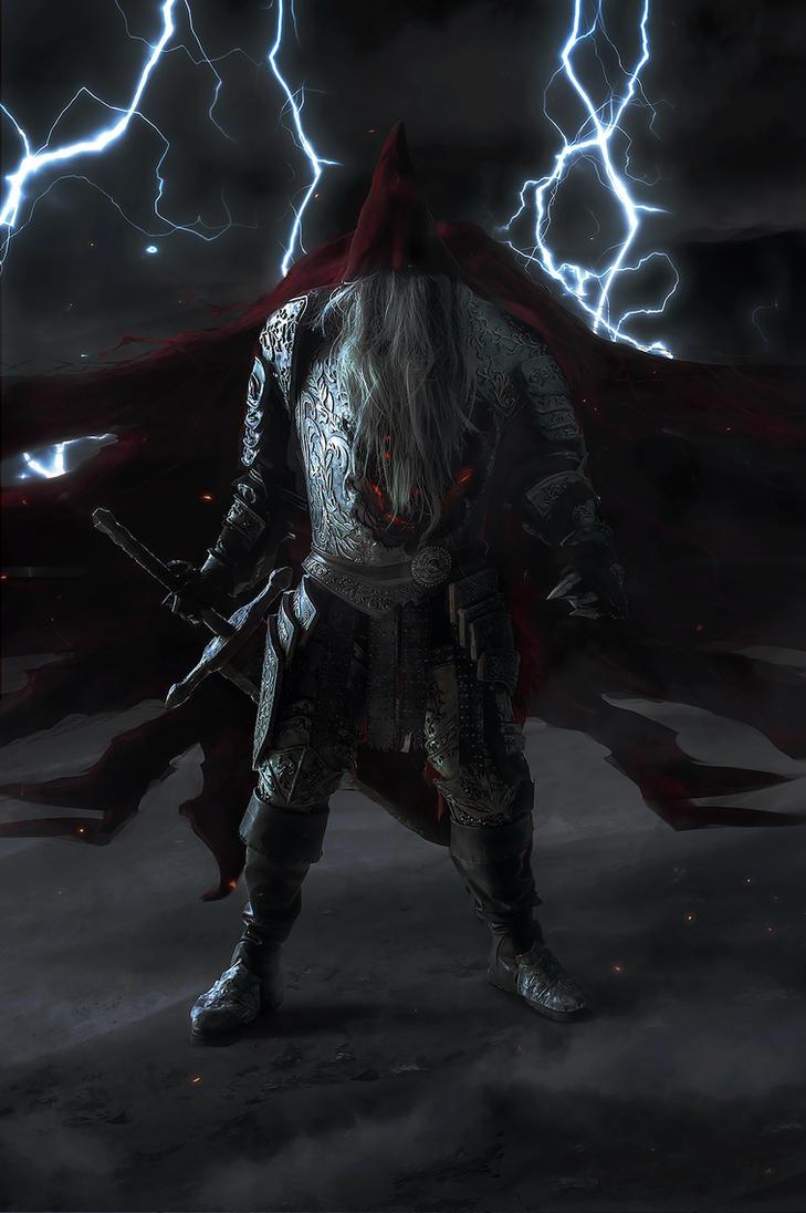 Slave Knight Gael (Dark Souls 3) cosplay by niamash