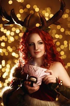 Enchantress Dota 2 cosplay (2)
