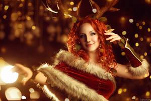 Enchantress Dota 2 cosplay (5)