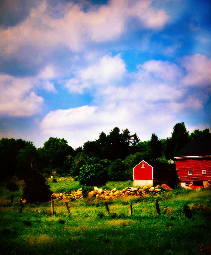 Red Barn by kirchinator