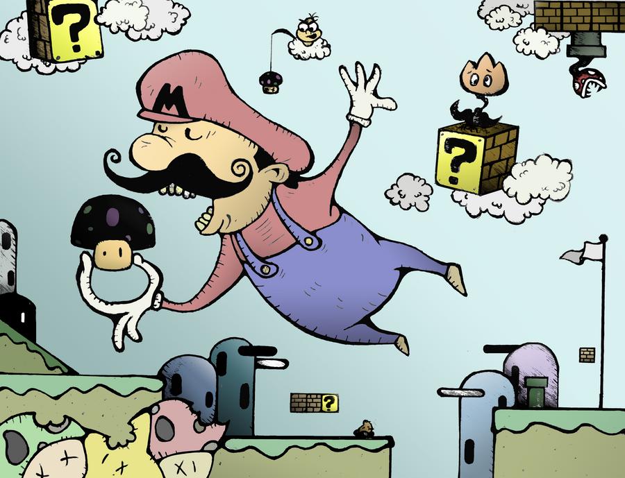 The Poison Mushroom by kirchinator