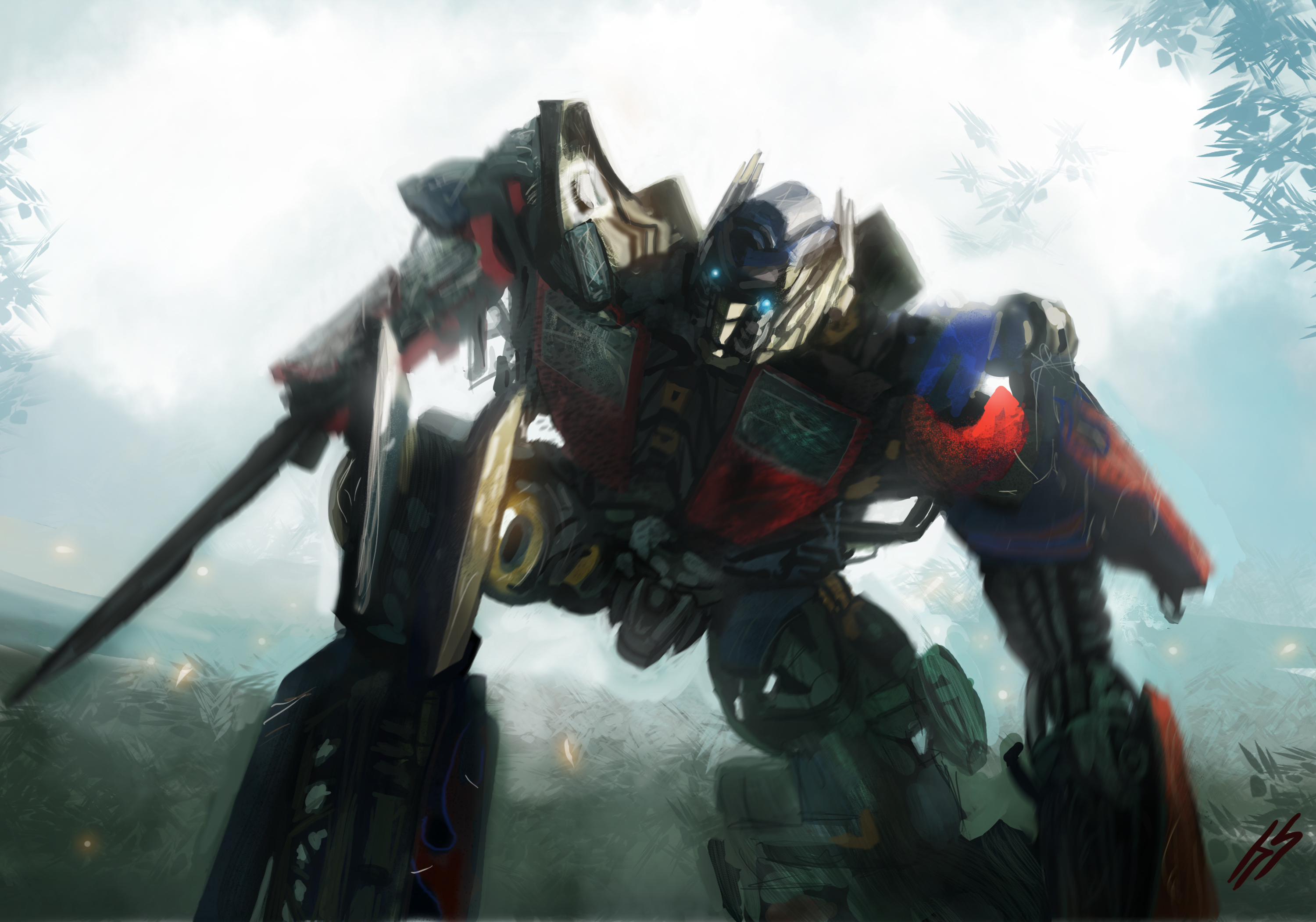 Optimus Prime by SharpieSchafsta